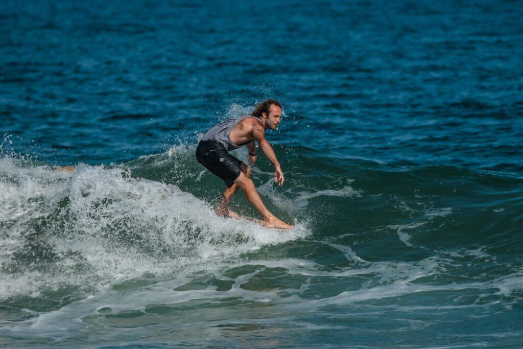 Surfing Long Beach Island, ALO Longboard Classic